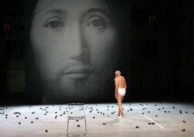 Bild: Romeo Castellucci / Socìetas Raffaello Sanzio: On the Concept of the Face, Regarding the Son of God
