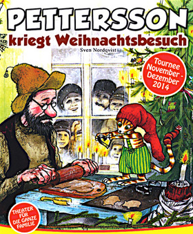 Bild: Pettersson kriegt Weihnachtsbesuch - Ein Familienstück des Wittener Kinder- und Jugentheaters