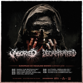 Bild: Aborted & Decapitated