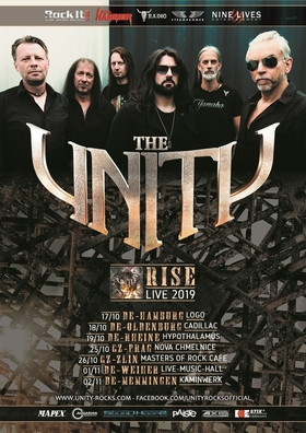 Bild: THE UNITY - Rise - Live 2019 + support (tba)