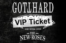 Bild: Gotthard & Krokus + Special Guest: The New Roses - VIP TICKET