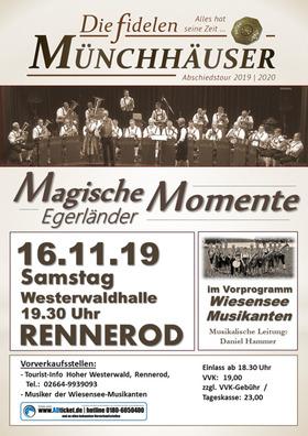 Bild: Die fidelen Münchhäuser - Abschiedstour 2019/2020