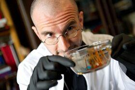 Bild: Dr. Mark Benecke - Bakterien, Gerüche & Leichen