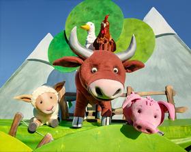 Bild: Das Schaf Charlotte - Figurentheater über die Kraft der Freundschaft