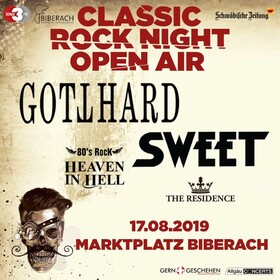 Bild: Classic Rock Night Open Air - Gotthard, Sweet, Heaven in Hell