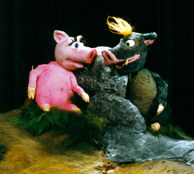 Bild: Josephine und Parcival - Tierisches Figurentheater