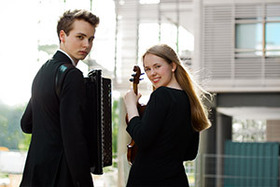 Bild: Le double. Anne Maria Wehrmeyer & Julius Schepansky
