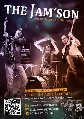 Bild: The Jam´son - Die wahrscheinlich vielfältigste und professionellste Band Südtirols.