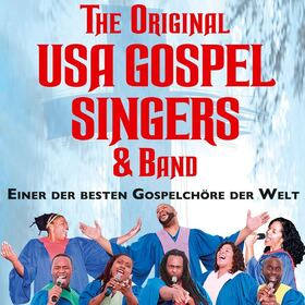 Bild: The Original USA Gospel Singers - mit Liveband