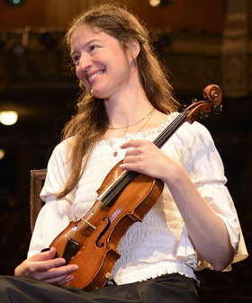 Bild: Violinabend mit Julia Galic