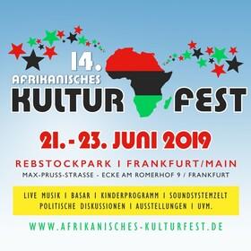 Afrikanisches Kulturfest Rebstockpark - Dauerkarte 21.06-23.06.2019 (alle Konzerte inklusive)