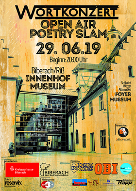 Bild: Wortkonzert No20, OPEN AIR - Der Poetry Slam in Biberach