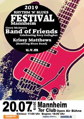 Bild: Rhythm 'n' Blues Festival Mannheim