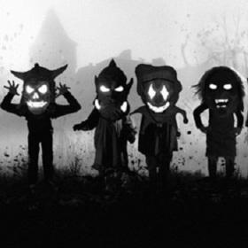 Bild: Kinder Halloween Burg Frankenstein