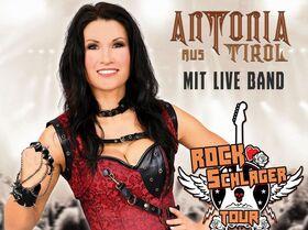 Antonia aus Tirol - Rockschlager Tour 2021 - mit Live-Band & Gästen