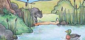 Bild: Peter und der Wolf - Von Sergej Prokofiew