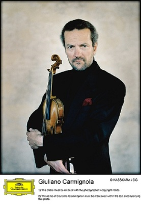 Bild: Giuliano Carmignola & Heidelberger Sinfoniker