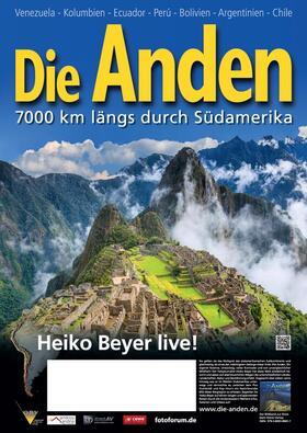 Live-Multivision - Die Anden mit Dr. Heiko Beyer