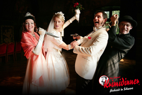 Krimidinner - das Original: Hochzeit in Schwarz