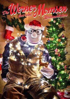 Bild: Werner Momsen - Werner Momsen ihm seine Weihnachtsshow