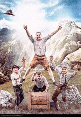 Bild: Alpin Drums: Der Berg groovt!