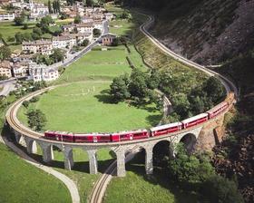 Auf Schienen durch die Schweiz - Albulabahn – Bernina-Express – Centovallibahn – GoldenPass Line