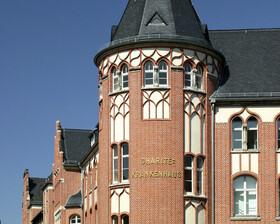 Die Charité und ihr historischer Campus in Berlin-Mitte