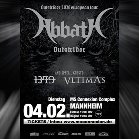 Bild: Abbath - Outstrider European Tour 2020