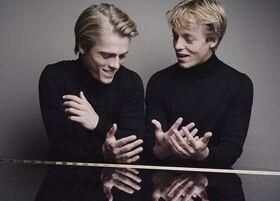 Bild: Lucas & Arthur Jussen Klavierduo