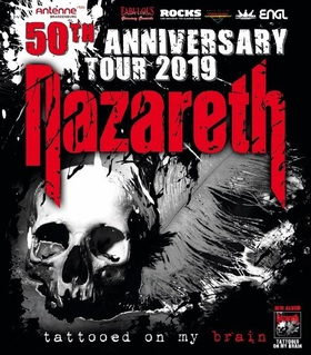 NAZARETH - 50th Anniversary Tour 2019 - with special guest