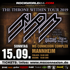 Bild: RAM - The Throne Within Tour 2019