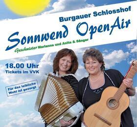 Bild: 2.Sommer-Sonnwend-OpenAir im Burgauer Schlosshof - Sing mit im Rudel