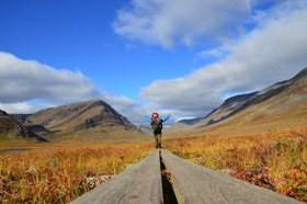 Bild: Norwegen - 3000 Kilometer zu Fuß bis zum Nordkap