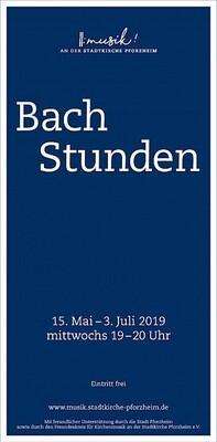 Bild: 6. Bachstunde: Trio Barock - Bachstunden 2019
