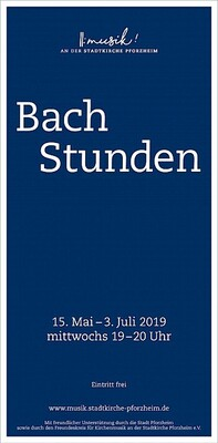 Bild: 7. Bachstunde: Festliche Bläserklänge - Bachstunden 2019