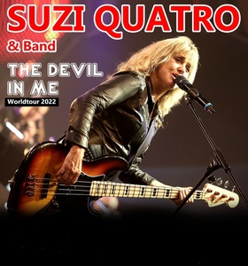 "Suzi Quatro - The ""Queen of Rock n' Roll"" is back!"