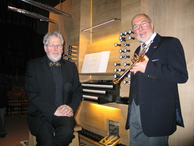 Bild: Festliches Weihnachtskonzert - Im Glanz von Trompete und Orgel