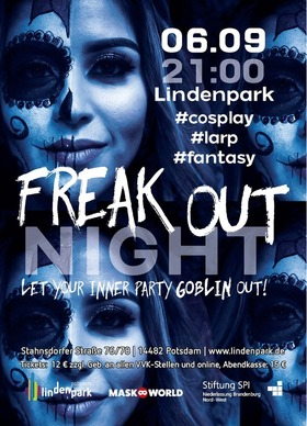 Bild: Freak out Night - Let Your Inner Party Goblin Out! mit DJ Louie Prima (80er, 90er, All time Favorites, Dance Classics, Global Beats & Electro Swin