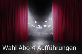 Bild: Abo I Wahl Abo 4 Aufführungen Theater/Konzerte