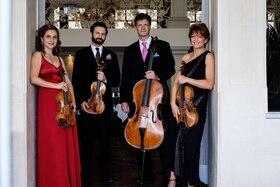 Bild: 9. Abokonzert der Kunstfreunde Wiesloch e. V. – Gringolts Quartett