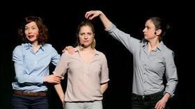 Bild: Melanie Haupt, Judith Jakob & Fabienne Hollwege - Frauen an der Steuer