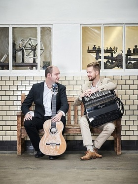 """Bild: Kammerkonzert mit dem """"Duo Accordarra"""" - 9. Vaihinger Gitarrentage"""