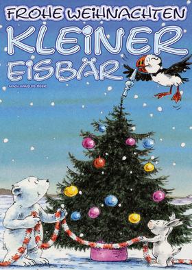 Bild: Frohe Weihnachten, kleiner Eisbär