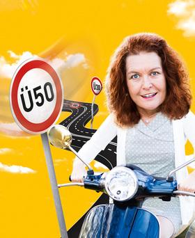 """Bild: hörbar Kabarett - Annette von Bamberg - """"Es gibt ein Leben über 50 – jedenfalls für Frauen"""""""