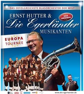 """Ernst Hutter & Die Egerländer Musikanten – Das Original - """"Europatournee"""" 2020"""