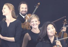 Bild: Die rotierende Spitze - Artemis Quartett