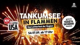 Bild: Tankumsee in Flammen - Deutschland leuchtet - Das Lichterfest der Region