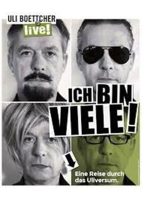 """Kabarett- und Mundart-Tage 2019 - Uli Boettcher """"Ich bin VIELE"""""""