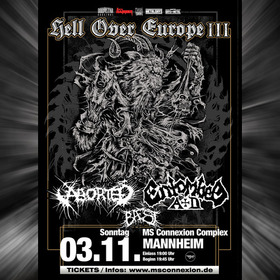 Bild: Aborted & Entombed A.D. - Hell Over Europe III
