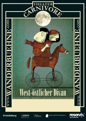 Bild: West-östlicher Divan - von J.W. von Goethe - dramatisiert und für die Wanderbühne eingerichtet - Theater Carnivore Wanderbühne